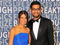 Anjali Pichai and Husband Sundar Pichai