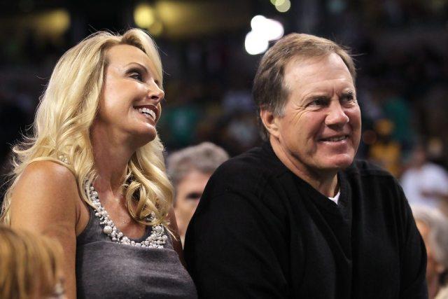 Bill Belichick and Girlfriend Linda Holliday