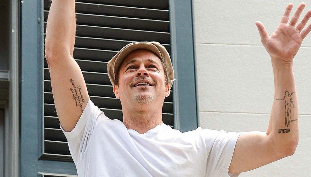 Brad Pitt's tattoos 2