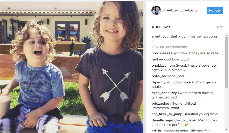 Megan Fox kids 3