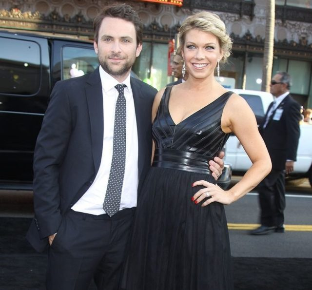 charlie day wife son