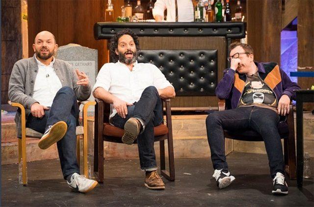 Chris Gethard, Paul Scheer, and Jason Mantzoukas