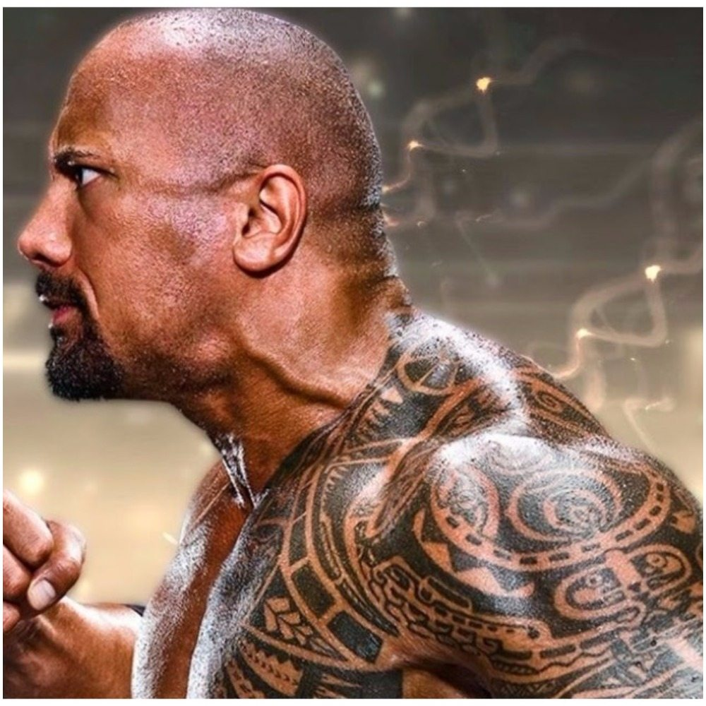 dwayne johnson tattoos and his house. Black Bedroom Furniture Sets. Home Design Ideas