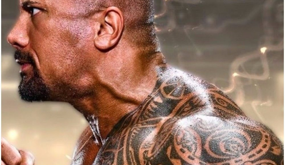 Dwayne Johnson's tattoos dpppp