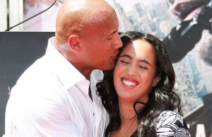 Dwayne Johnson's wife dpd
