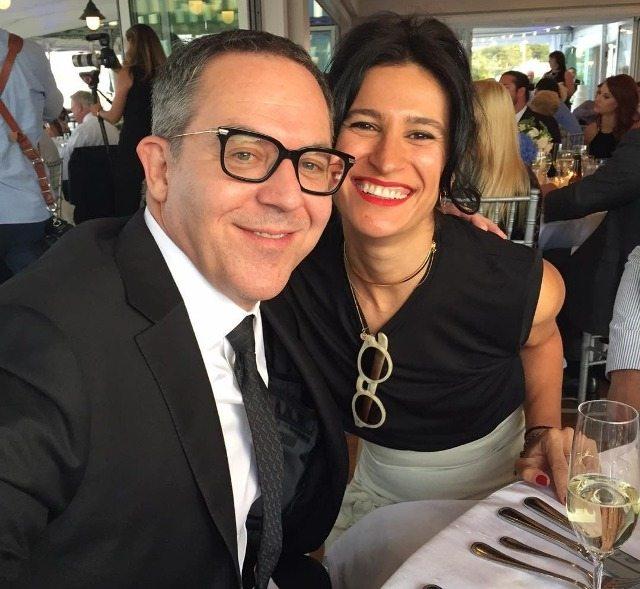 Elena Moussa and husband Greg Gutfeld