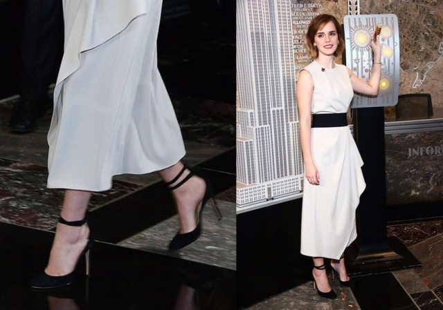 Emma Watson Shoe