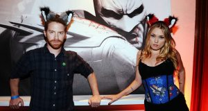 Seth Green's wife dp