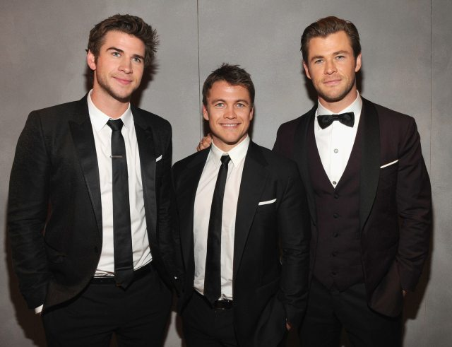 Liam Hemsworth's height 4