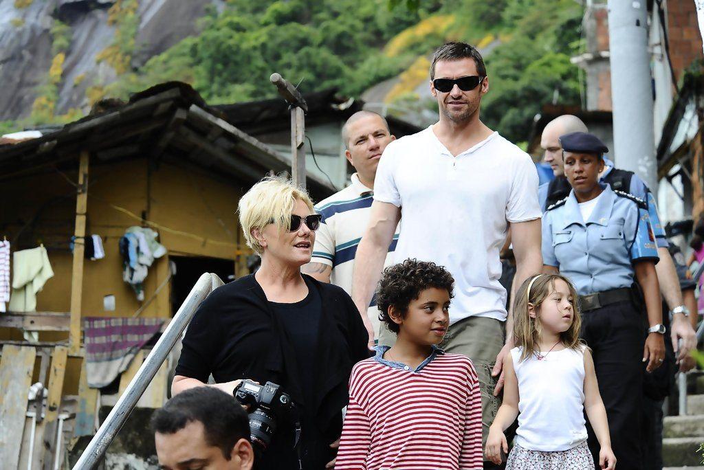 Hugh Jackman's family