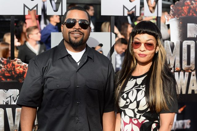 Kimberly Woodruff Ice Cube's family 4