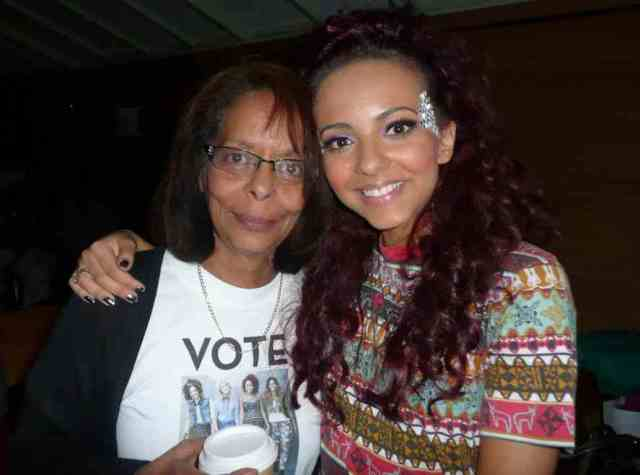 Jade Thirlwall and Mother