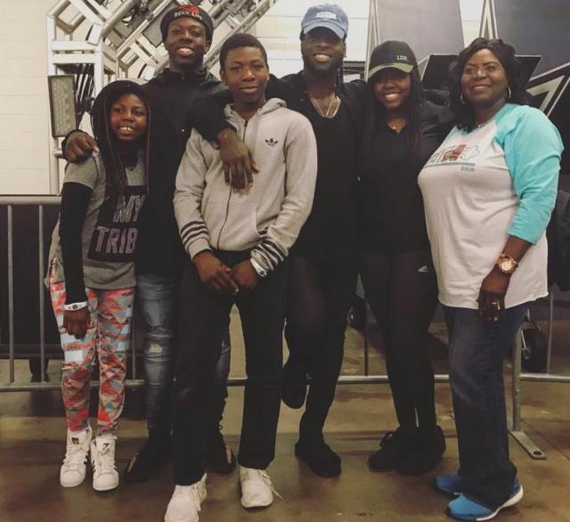 Jay Ajayi Family