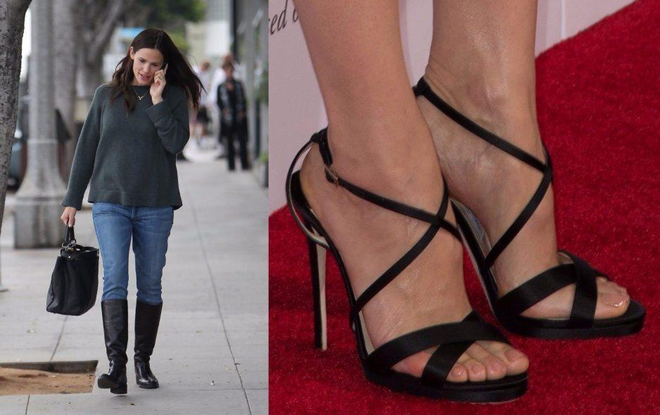 Jennifer Garner Feet Shoe Size And Shoe Collection