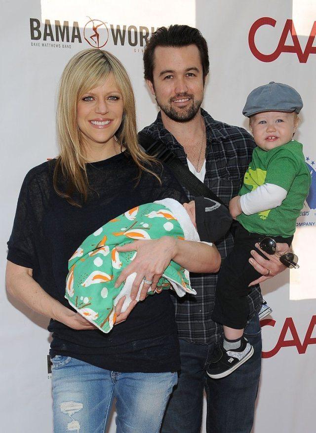 Kaitlin Olson and family