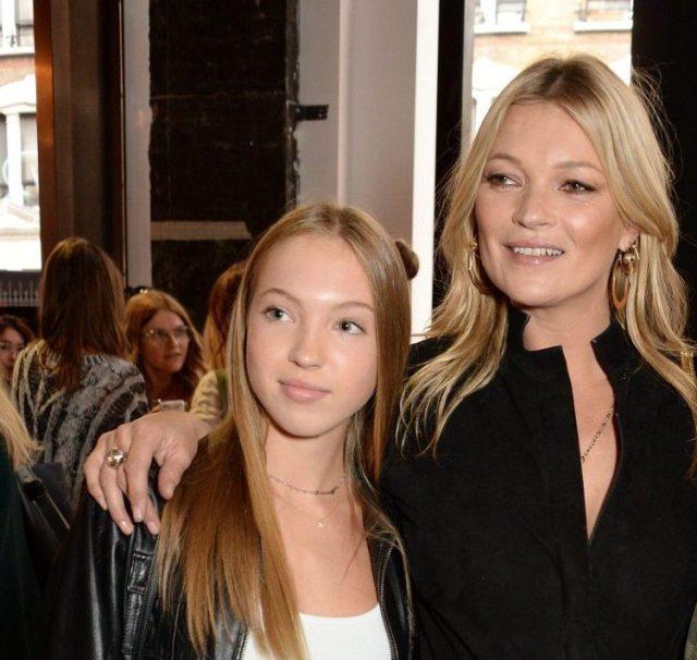 Kate Moss and daughter Ella Grace