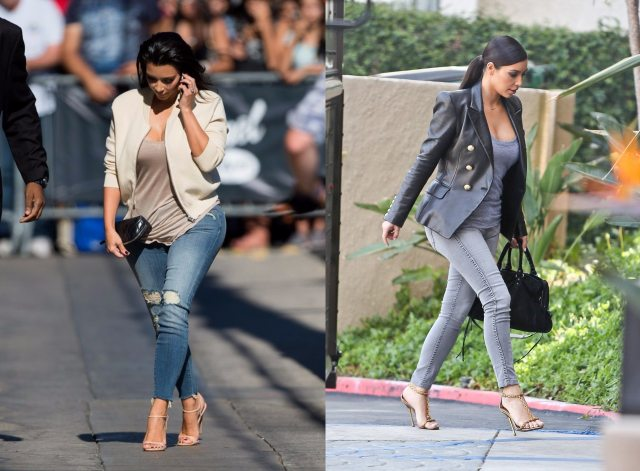 Kim Kadarshian jeans