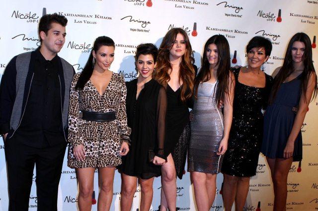 Kourtney Kardashian Family