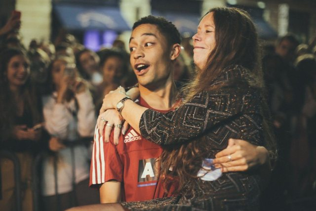 Loyle Carner and Mother