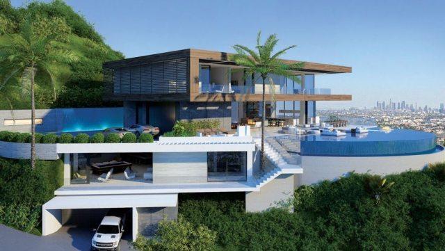 Michael Bays Hollywood home