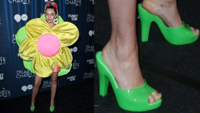 Miley Cyrus Shoes