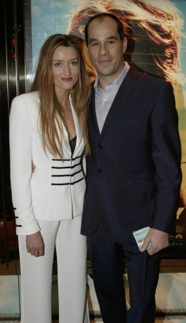 Natascha McElhone and Late husband