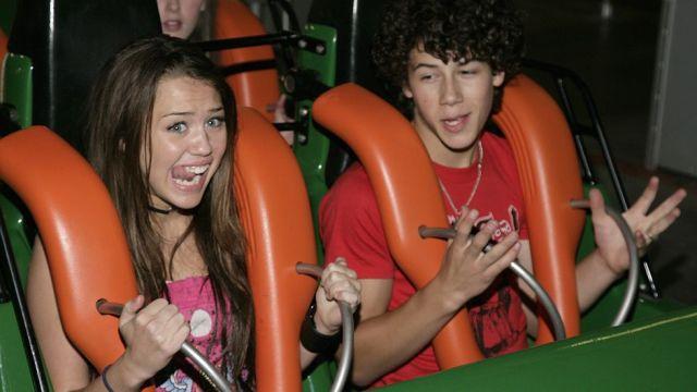 Nick Jonas and Miley Cyrus