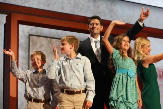 Paul Ryan's family