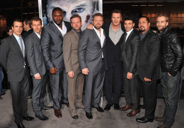 Liam Neeson's height 4