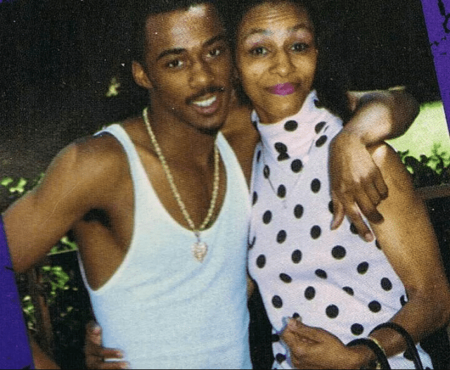 Ralph Tresvant and mother Patricia
