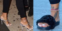 Rihanna Shoe Collection Feet And Size