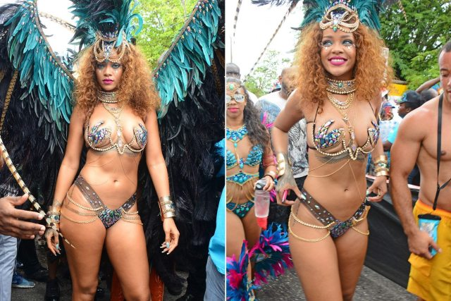 Rihanna weight gain