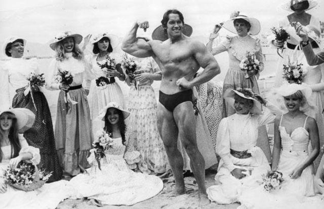 Arnold Schwarzenegger's affair ladies