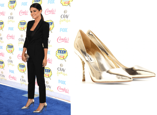 Selena Gomez 2014 Teen Choice Awards Shoe