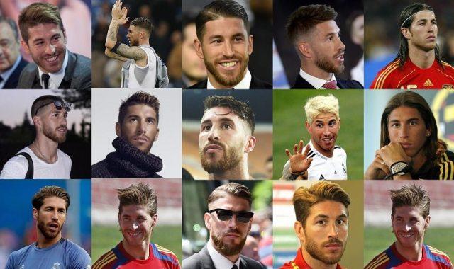 Sergio Ramos Hairstyles