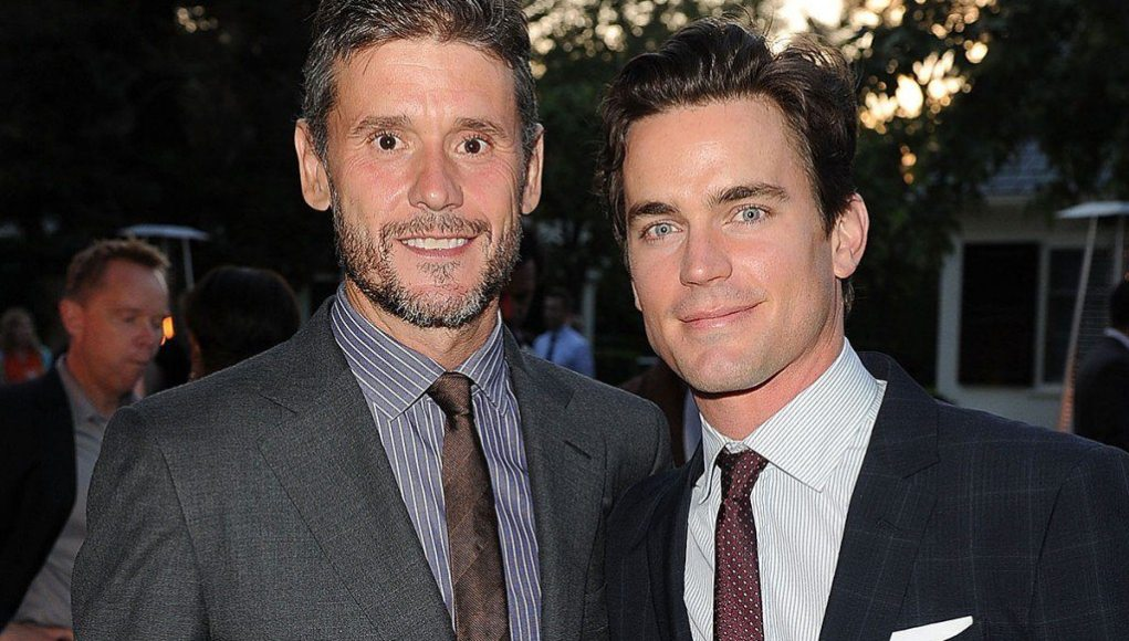 Simon Halls relationship with Matt Bomer