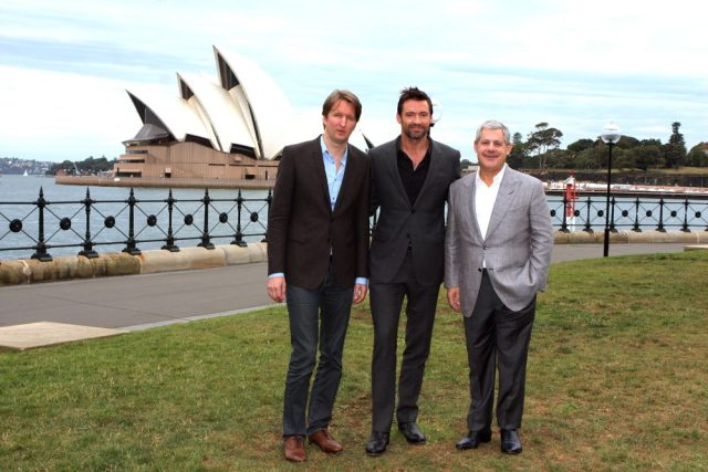 Hugh Jackman's height 5