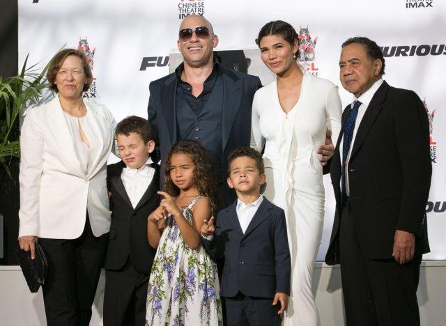 Vin Diesel Family