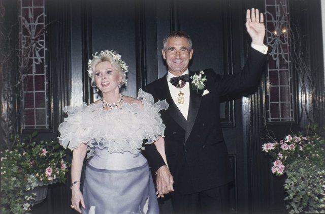 Zsa Zsa Gabor's wedding to 9th husband Frédéric Prinz von Anhalt