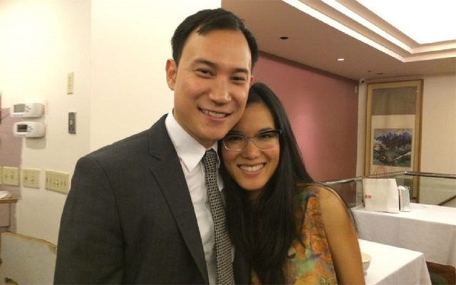 Ali Wong and her husband, Justin Hakuta
