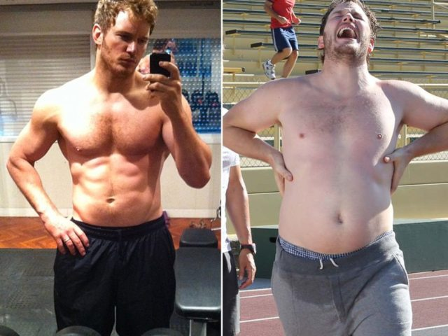 Chris Pratt's height 6