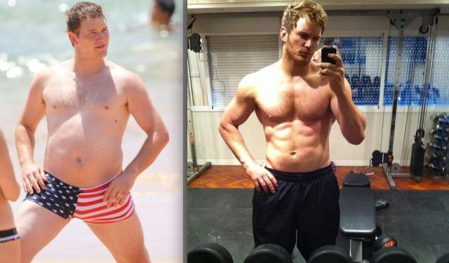 Chris Pratt's height 7