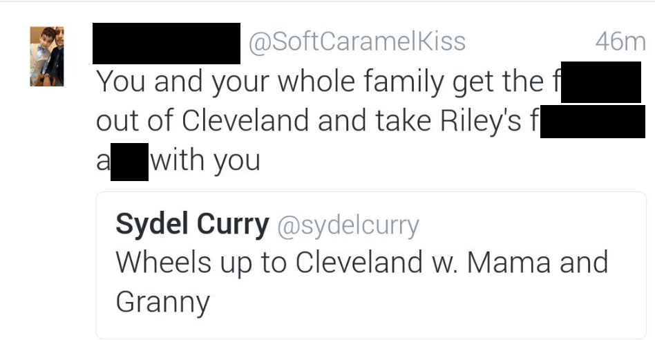 Stephen Curry's brother tweet