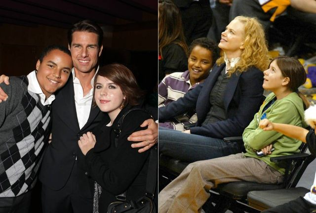 Nicole Kidman's children with Tom Cruise