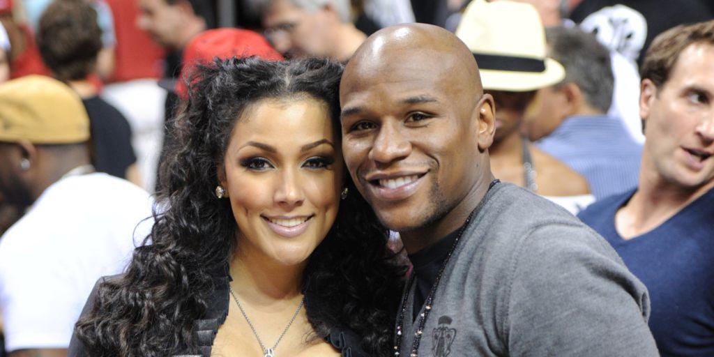 Mayweather's girlfriend Shantel Jackson