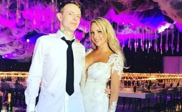 Deadmau5 and wife, Fedoni