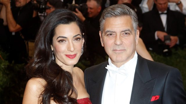 George Clooney's wife 3
