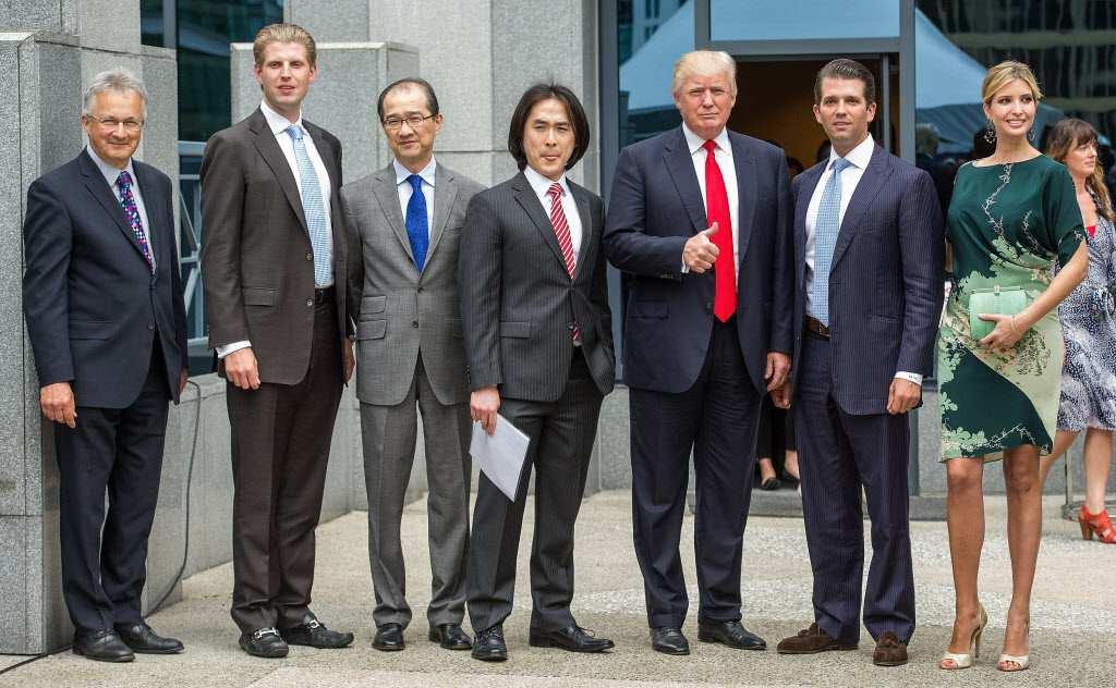 Donald Trump's height 5