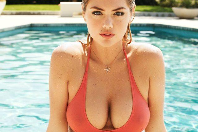 Kate Upton's bra 3