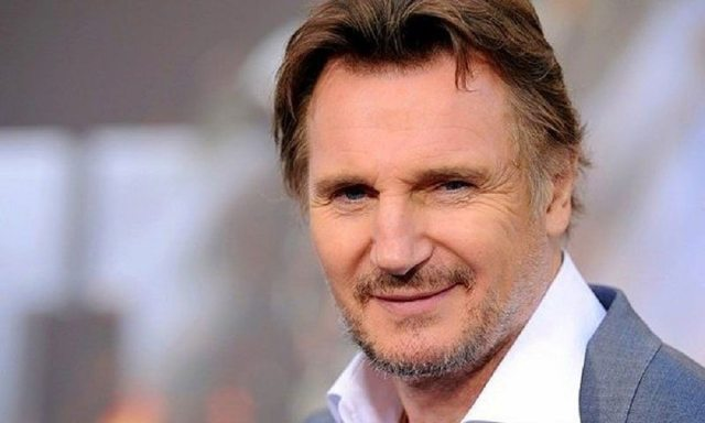 Liam Neeson's height 5